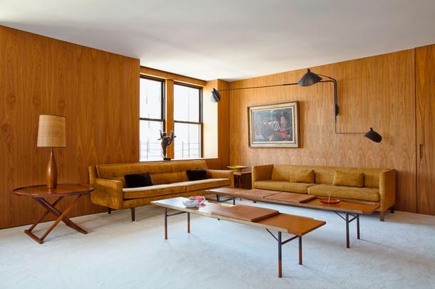 Квартира в Нью-Йорке, архитектор Исай Ванфель